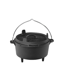 8 INCH CAST IRON COOKWARE