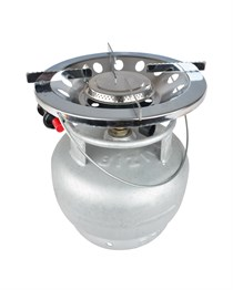 NURGAZ TURBO CAMPING STOVE WITH PIEZO